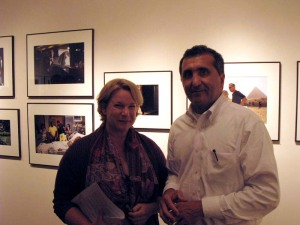 Caitlin and Pete Souza at the Leica Gallery in NYC