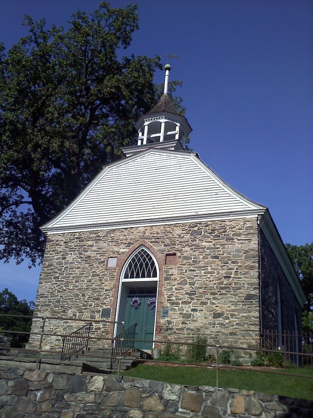 Dating from 1685, the Old Dutch Church, Sleepy Hollow, NY