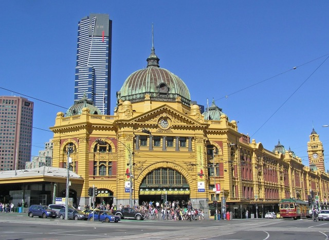 Melbourne -- which I visited in 1998