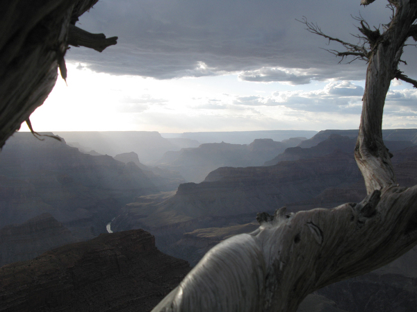 The Grand Canyon -- whose profound silence makes your ears ring