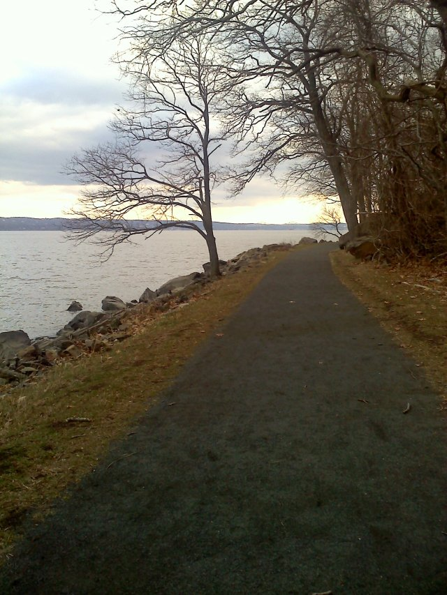 A walk along the Palisades, on the western shore of the Hudson River