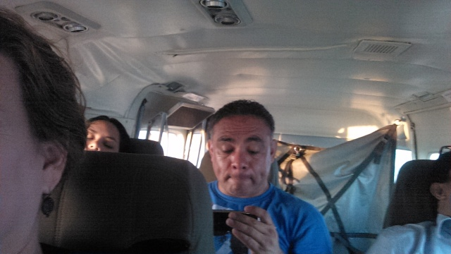 Our flight from Managua to Bilwi