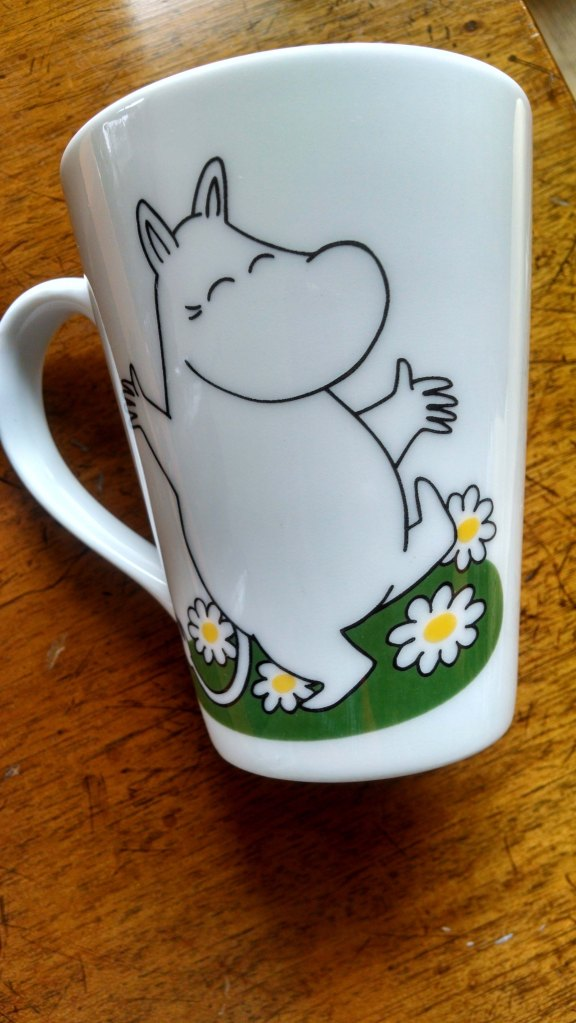 This Moomin mug also makes me happy!