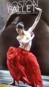 """From """"Bella Figura"""" by Czech choreographer Jiri Kylian -- the first bare-breasted ballet I've seen"""