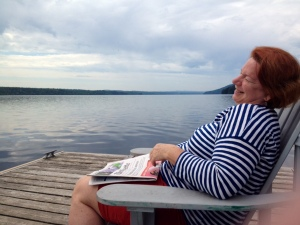 Lakeside at Manoir Hovey, Quebec