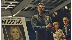Ben Affleck as Nick in the 2014 film, Gone Girl