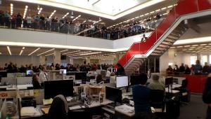 The New York Times newsroom