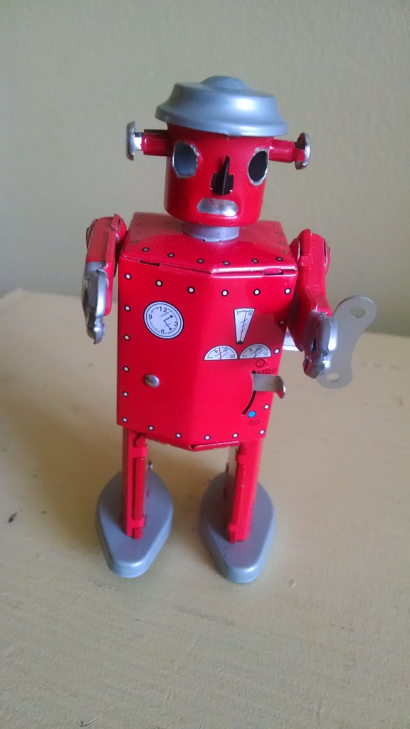 I treasure my little robot, bought in Paris