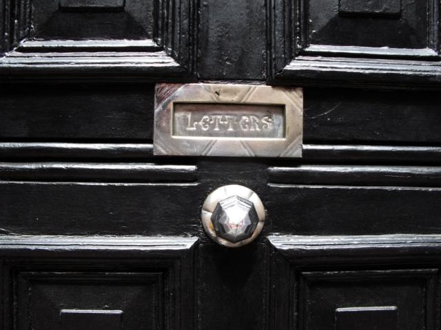 A Dublin doorway