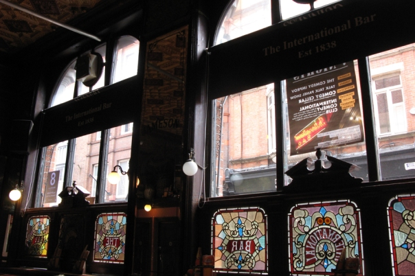 Interior of the International Bar, Dublin