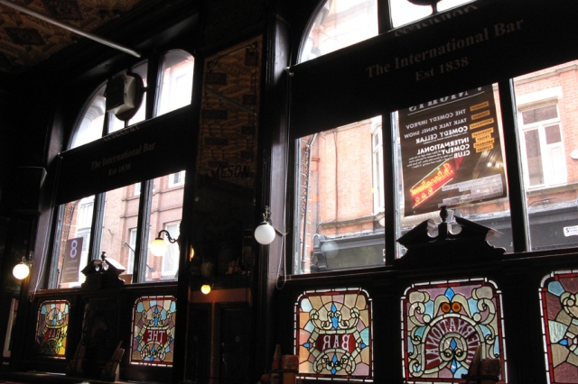 Interior of the International Bar, Dublin