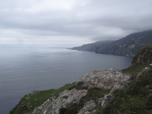Slieve League, County Donegal, Ireland -- the world ready for me to explore!