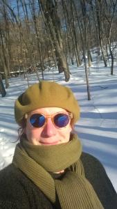 A silly winter selfie...
