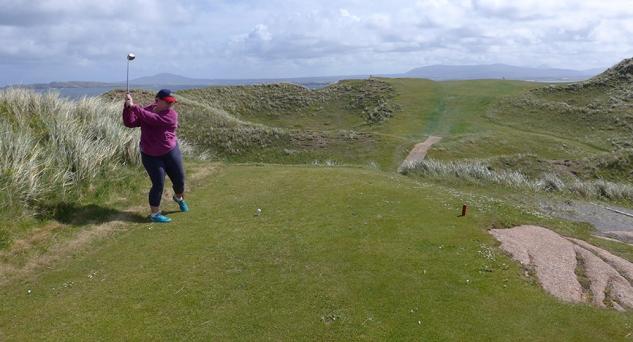 Cruitch Island Golf Course, Donegal, Ireland