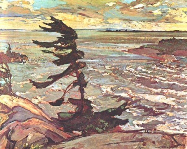 Stormy_Weather_Georgian_Bay_by_Artist_Frederick_Horsman_F.H._Varley_Group_of_Seven_Painter