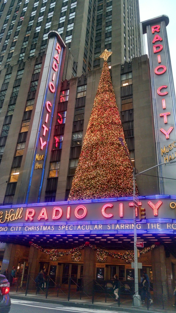 Every year, the Rockettes perform their Christmas show here, a beloved tradition for many New Yorkers