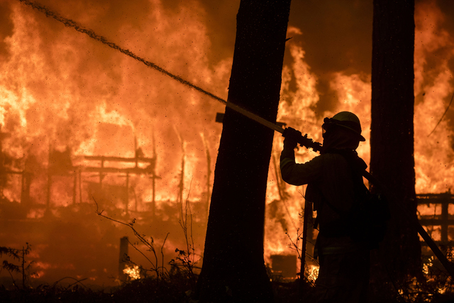 Butte County wildfire and evacuations