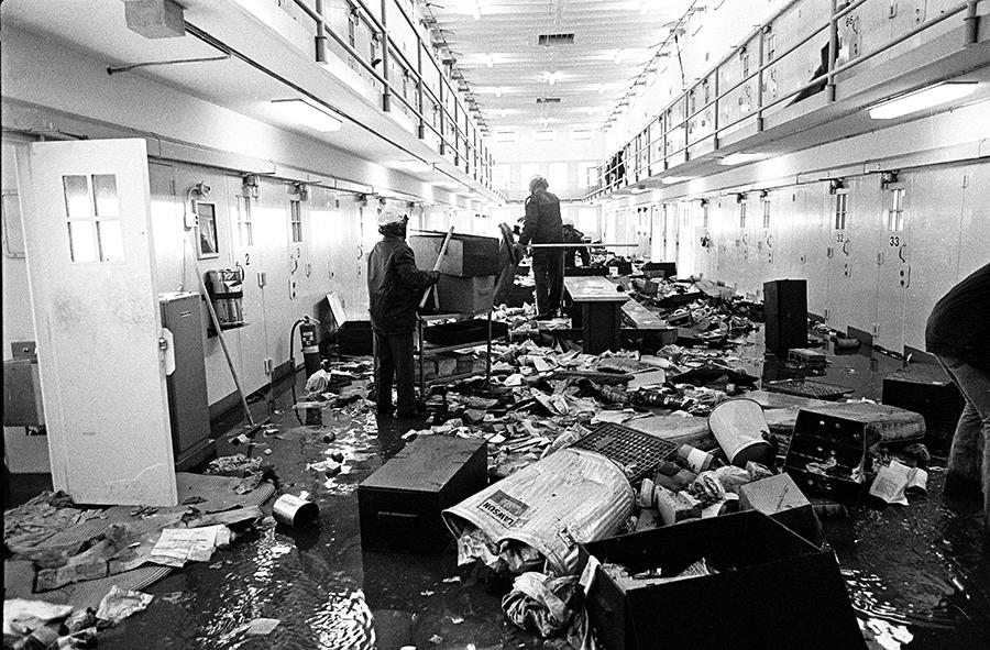27- NM Prison Riot-J.R. Lopez